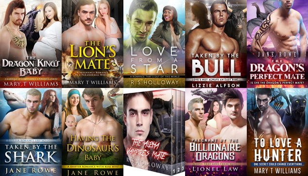 Top 10 paranormal romance books from Shifter Club