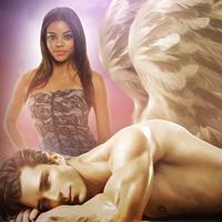 My Angel Brace - A Sexy BWWM Paranormal Romance