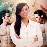 Alpha Shifters BWWM threesome romance