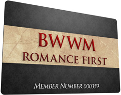 BWWM Romance First Membership Card