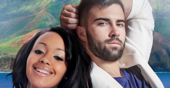 The Honeymoon - A Black Woman White Man Wedding Romance